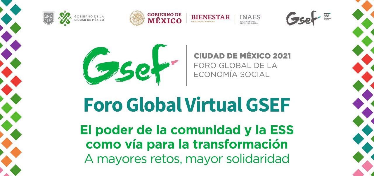 Conoce la visión global de la Economía Social en el Foro Global Virtual GSEF.