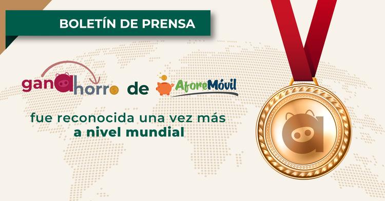 Ganahorro de AforeMóvil fue reconocida una vez más a nivel mundial como el primer programa de recompensas en el SAR.