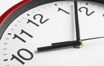 En el horario de invierno, atrasa tu reloj una hora.