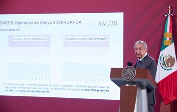 Conferencia de prensa del presidente Andrés Manuel López Obrador del 27 de octubre de 2020