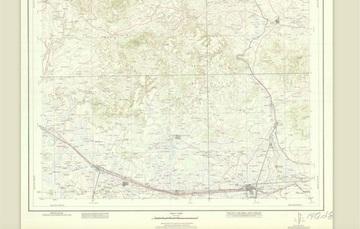 """Para conmemorar un año más, la Mapoteca Manuel Orozco y Berra presenta esta carta elaborada por la Comisión Cartográfica Militar de la SEDENA titulada """"Celaya, Guanajuato"""""""