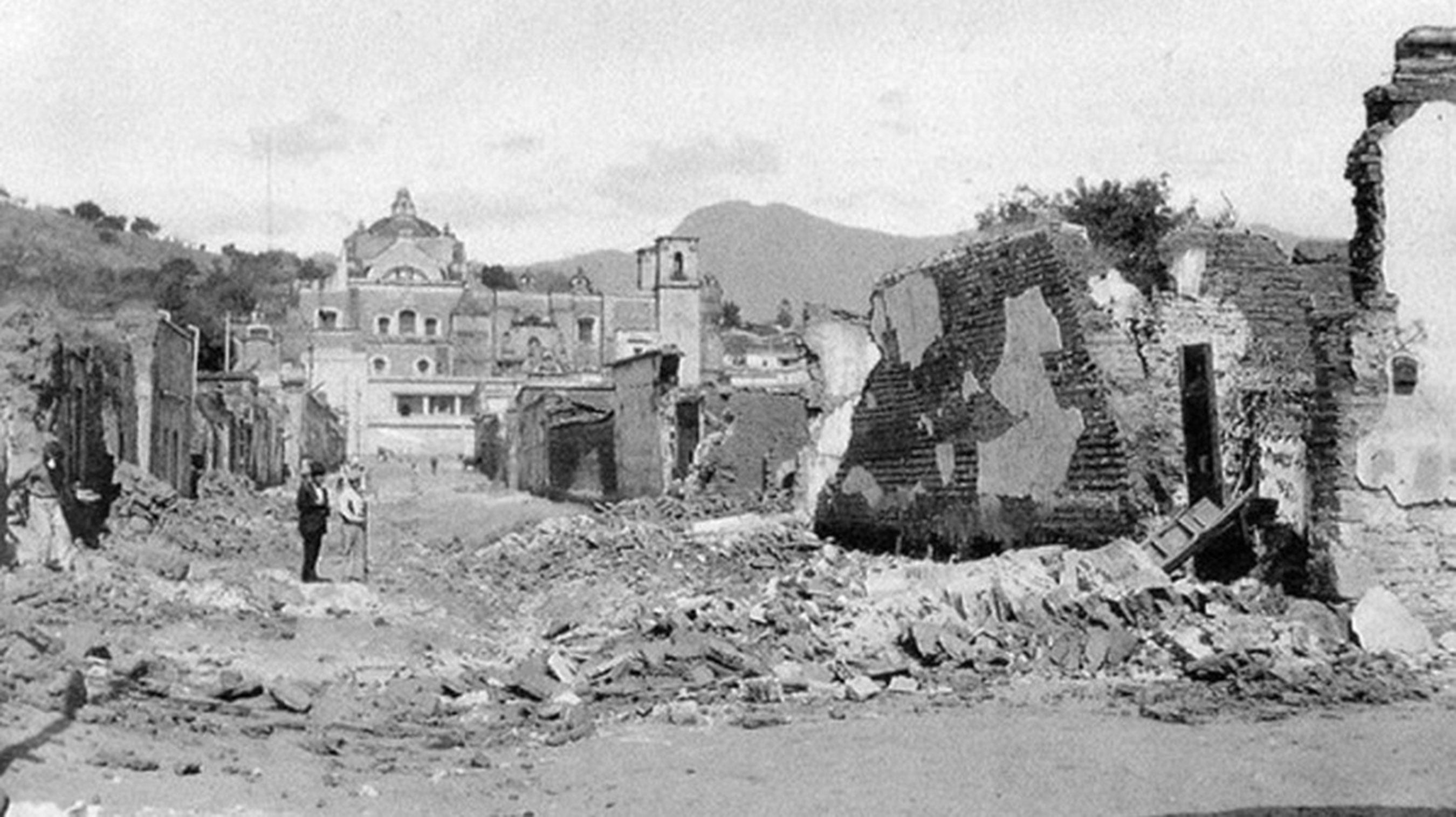 Acambay, Estado de México, 1912.