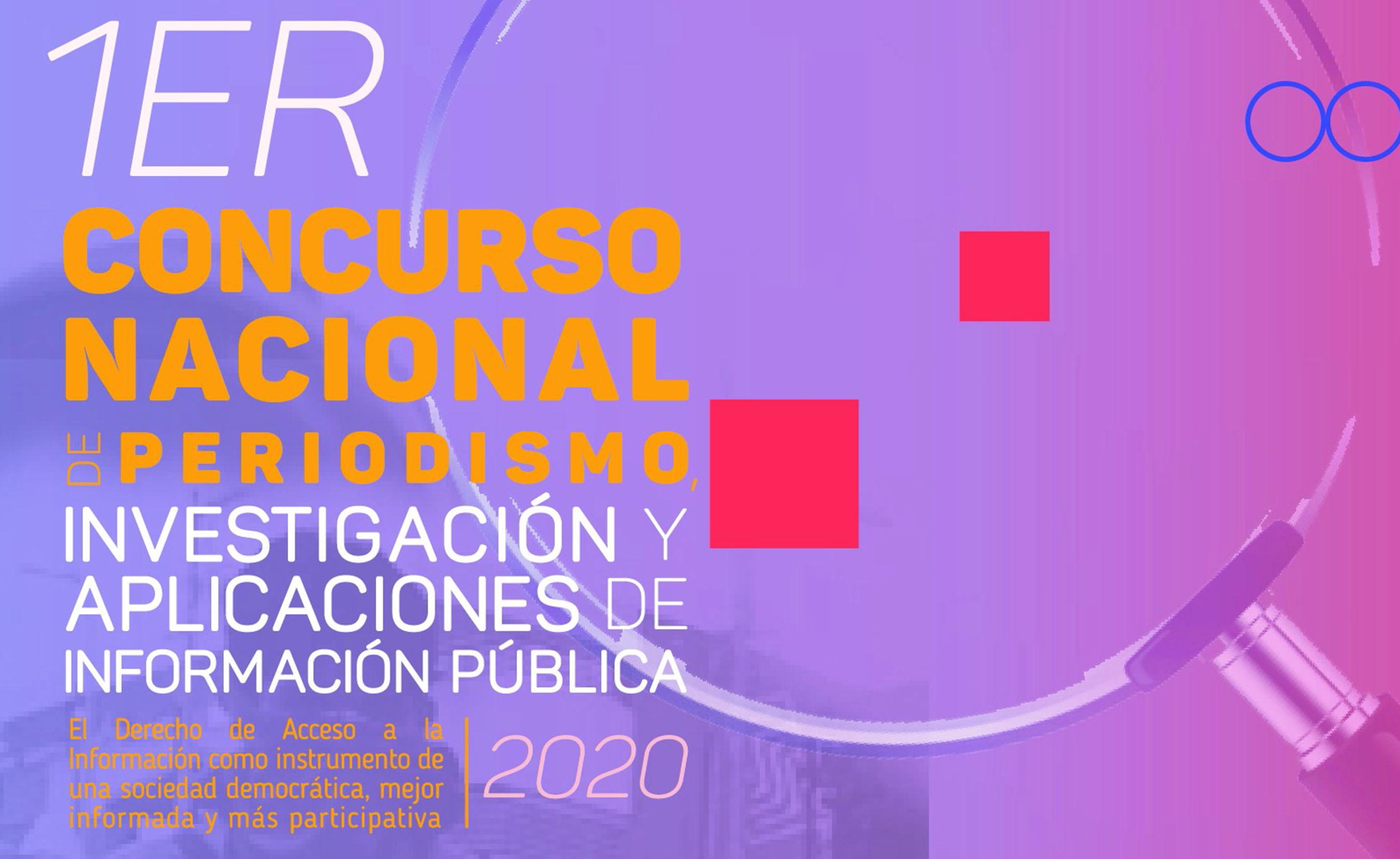 Primer Concurso Nacional de Periodismo, INAI.