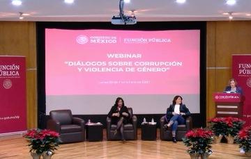 Diálogos sobre corrupción y violencia de género
