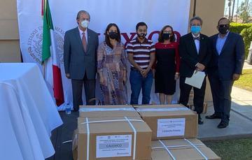 Inicia SEP entrega de Libros de Texto Gratuitos a Consulados de México en Estados Unidos