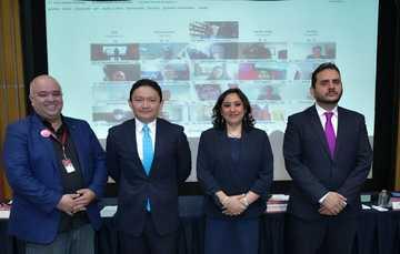 Secretaria Irma Eréndira Sandoval encabeza Encuentro Nacional de Órganos Internos de Control