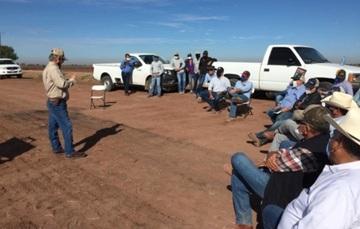 Asistencia de productores y técnicos de Valles del Yaqui y Mayo