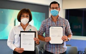 INEEL y AEEP firman convenio de colaboración para trabajos conjuntos en energía.