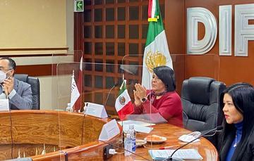 La Titular del SNDIF, María del Rocío García Pérez, alertó que la violencia en niñas, niños y adolescentes, socava su desarrollo como adultas y adultos funcionales.