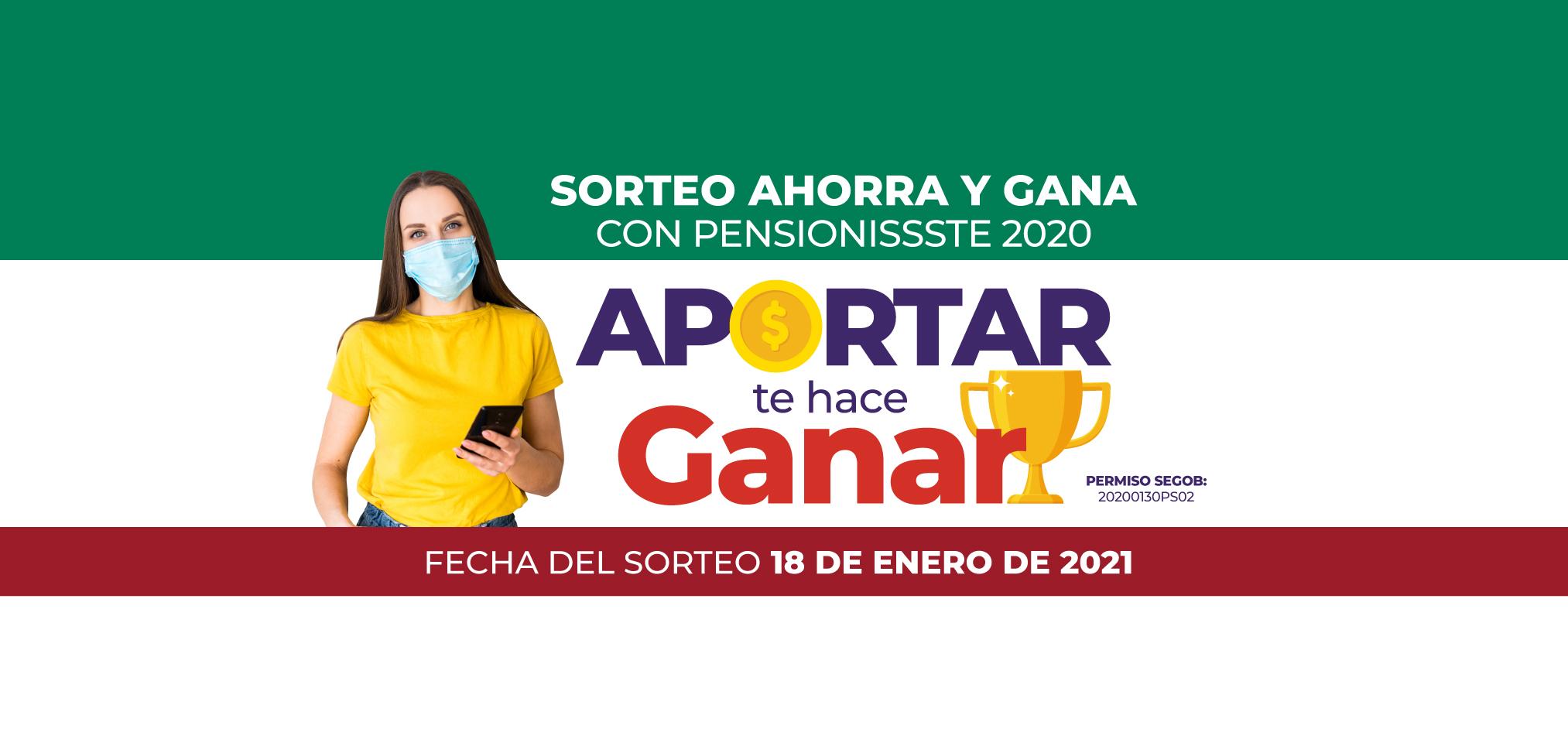 """SORTEO """"APORTAR TE HACE GANAR"""" 2020"""