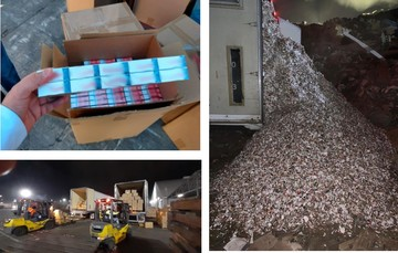 El IMPI aseguró y destruyó más de 9 millones de cigarros pirata