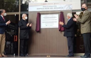 Inauguración del edifico sede del Senasica