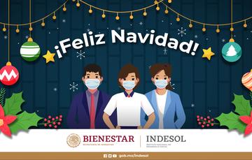 Indesol desea a todas y todos una muy Feliz Navidad
