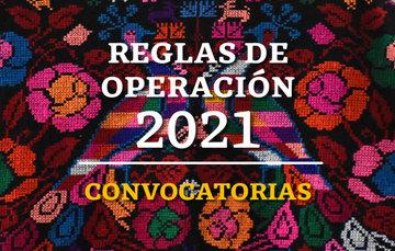 Reglas de Operación 2021 de los Programas del Instituto Nacional de los Pueblos Indígenas.