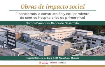 Hospital General de Zona IMSS Tapachula, Chiapas.