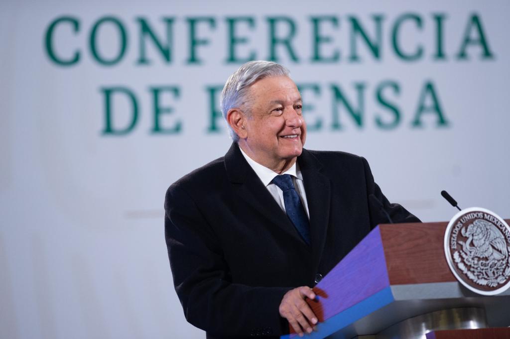 Conferencia de prensa del presidente Andrés Manuel López Obrador del 8 de enero de 2021