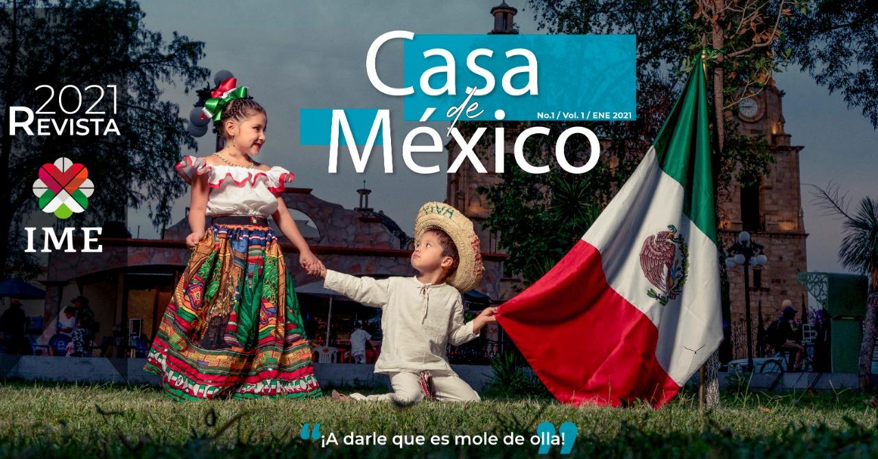 """Publicación digital mensual """"Casa deMéxico"""""""