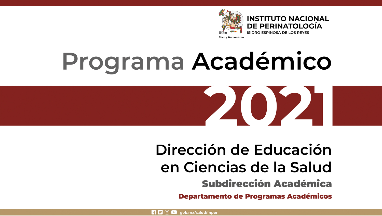 Programa Académico 2021