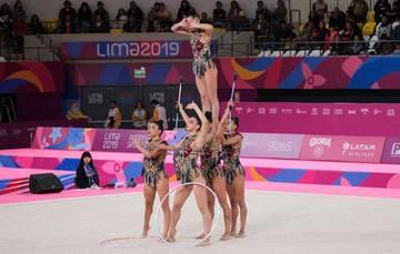 Selección Mexicana de Gimnasia Artística en los Juegos Panamericanos de Lima 2019.