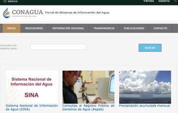 Portal de Sistemas de Información del Agua.