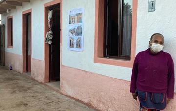Reconstrucción de vivienda en el Estado de México