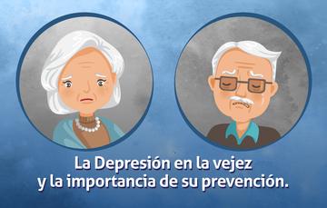 Un adulto mayor y una adulta mayor con cara de tristeza