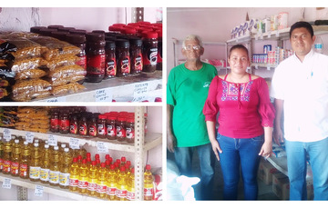 Surte Diconsa Tapachula canasta básica a familias vulnerables de Villa Comaltitlán