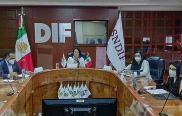 DIF Nacional refrenda compromiso para  actuar siempre,  a favor del Interés Superior de la Niñez y la Adolescencia.