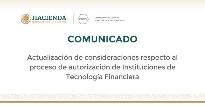 Actualización de consideraciones respecto al proceso de autorización de ITF