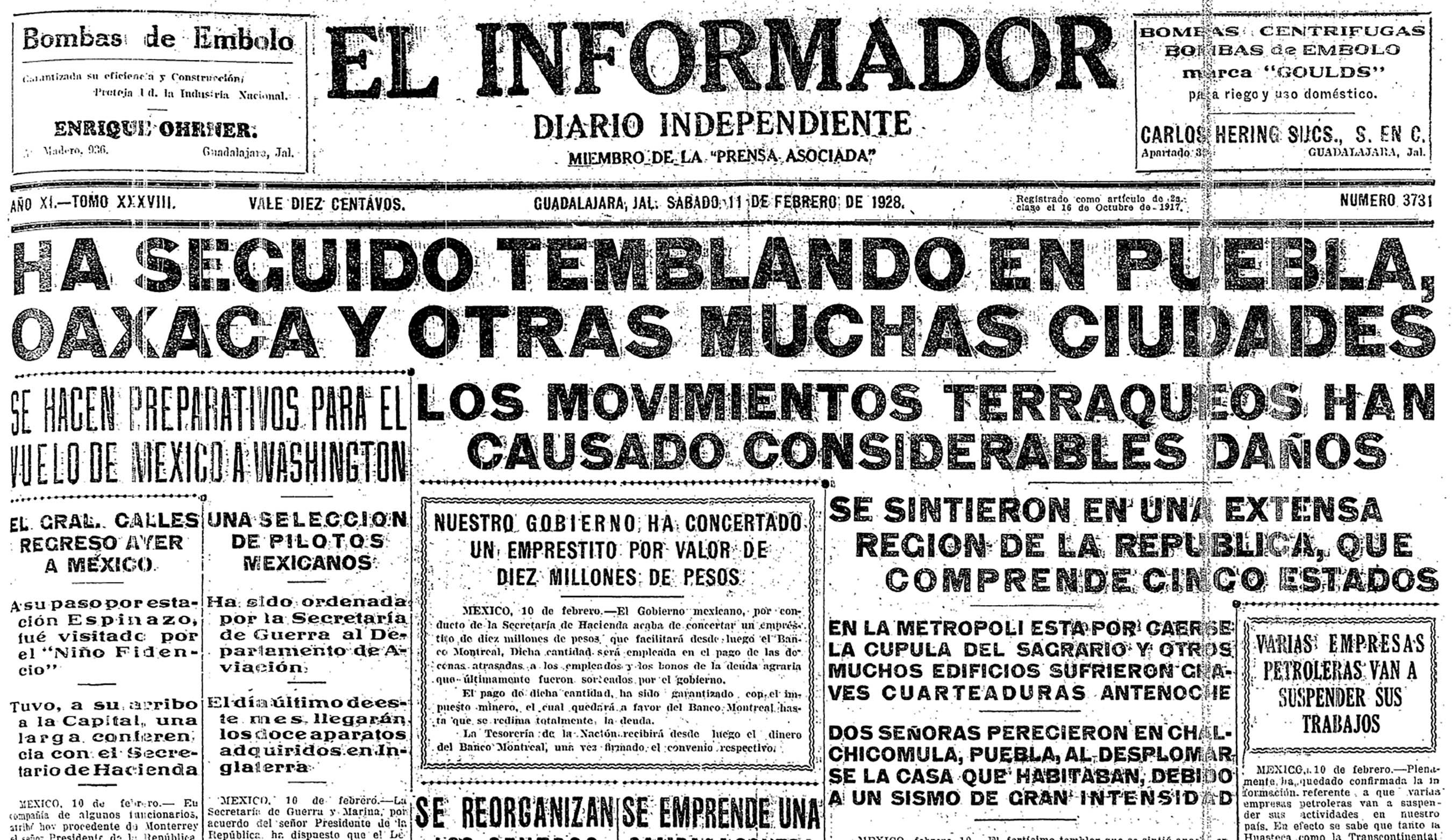 El Informador, 1928
