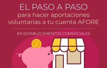 Aportaciones voluntarias a tu cuenta AFORE en el Banco del Bienestar