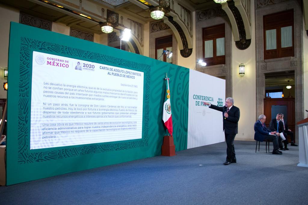 Conferencia de prensa del presidente Andrés Manuel López Obrador del 9 de febrero de 2021