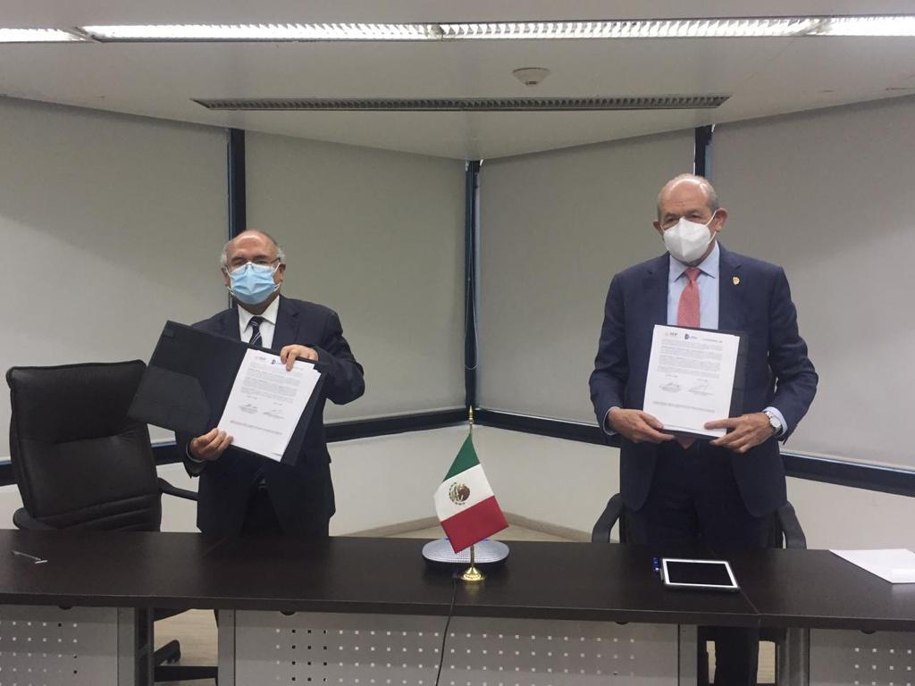 Firman TecNM y la Agencia Espacial Mexicana convenio para aplicar la ciencia y la tecnología en beneficio de la sociedad