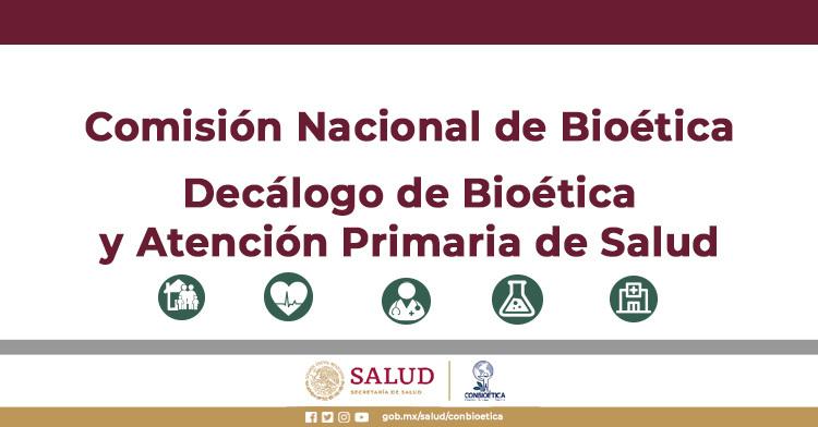 Decálogo de Bioética y APS