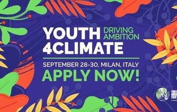 "Convocatoria ""Youth4Climate: Driving Ambition"" en el marco de la COP26"