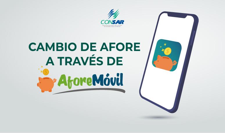 """A partir de hoy los ahorradores del SAR podrán cambiarse de AFORE a través de """"AforeMóvil""""."""