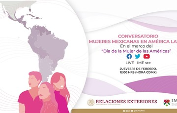 Primer Conversatorio con Mujeres Mexicanas en América Latina