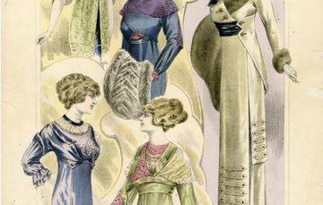 Ilustración de la revista La Moda Elegante Ilustrada