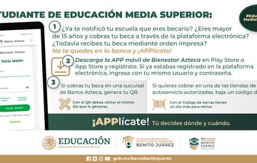 Guía para obtener la APP móvil de Bienestar Azteca