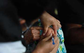 Avanza vacunación en el municipio de Cunduacán para adultos mayores