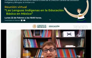Las comunidades y pueblos indígenas están en el centro de las acciones gubernamentales: Educación