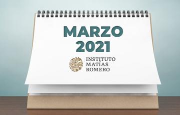 """Boletín electrónico """"Este mes en el IMR"""" (marzo 2021)"""