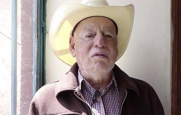 Roberto Muñoz Castro, derechohabiente de la Pensión para Personas Adultas Mayores