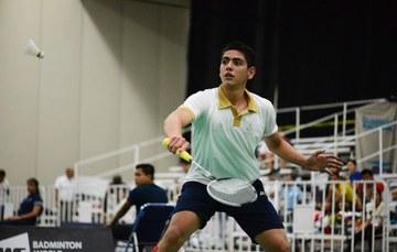 Luis Montoya, badmintonista mexicano. Cortesía