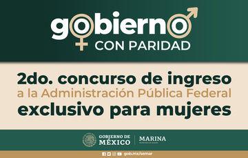 2do. Concurso de Ingreso a la Administración Pública Federal exclusivo para mujeres.