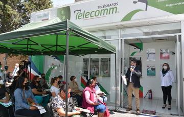 Telecomm entrega programa de microcréditos para el Bienestar