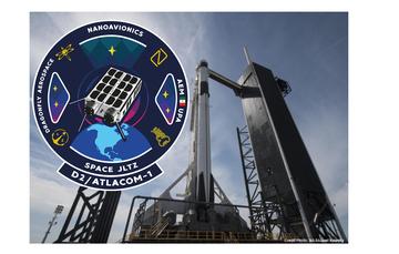 """El Nanosatélite """"D2/AtlaCom-1"""" será lanzado por Space X desde las instalaciones de la NASA en Cabo Cañaveral."""