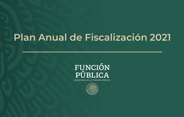 Plan Anual de Fiscalización 2021