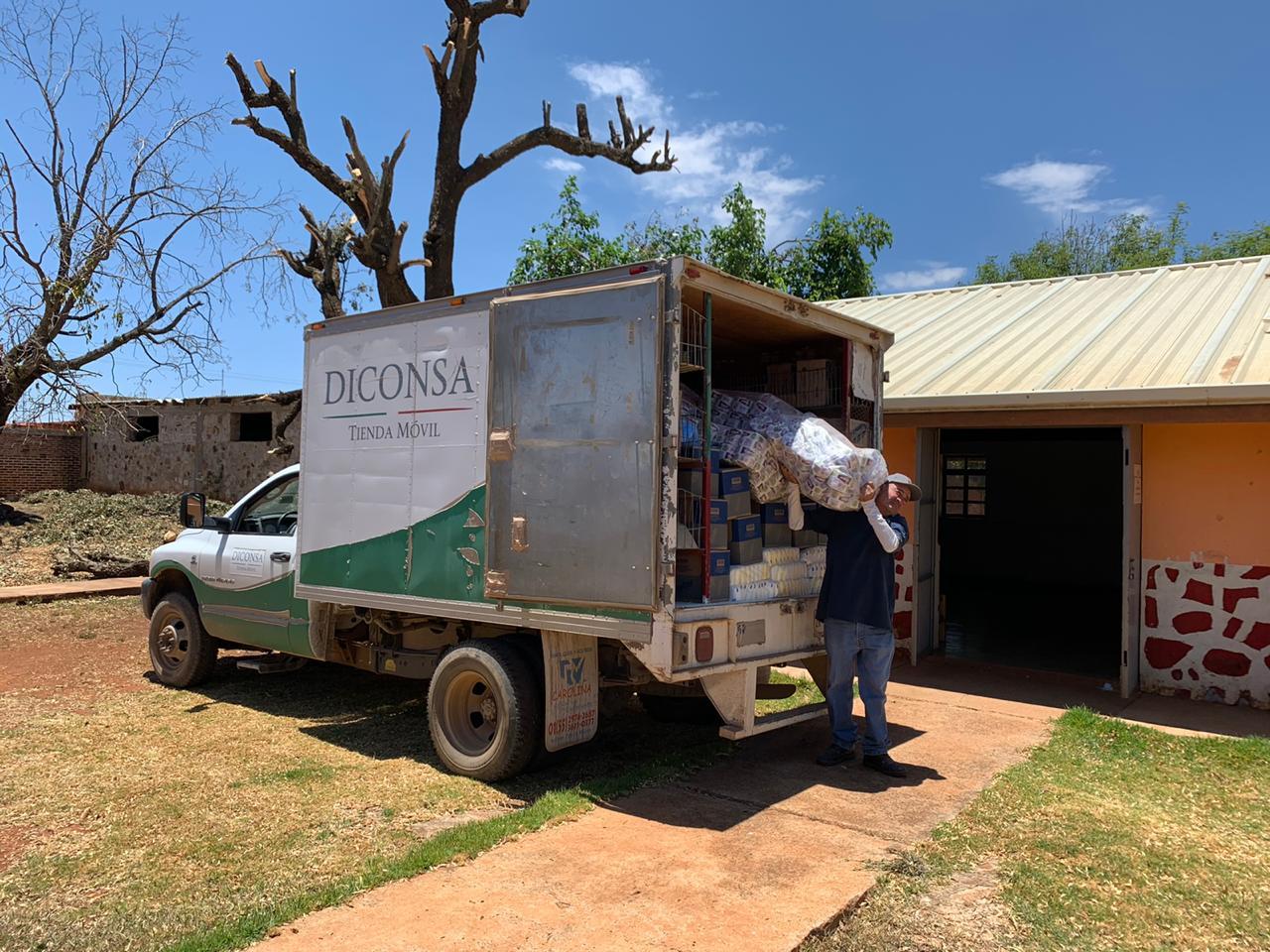 Acuerda Diconsa venta de despensas con autoridades educativas de Zacatecas