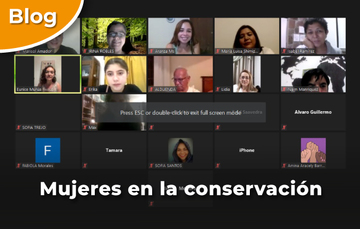 Mujeres en la conservación.